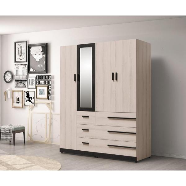 瑪爾斯5.3尺組合式衣櫃 1.35尺2.7尺 上櫃設計 多尺寸設計