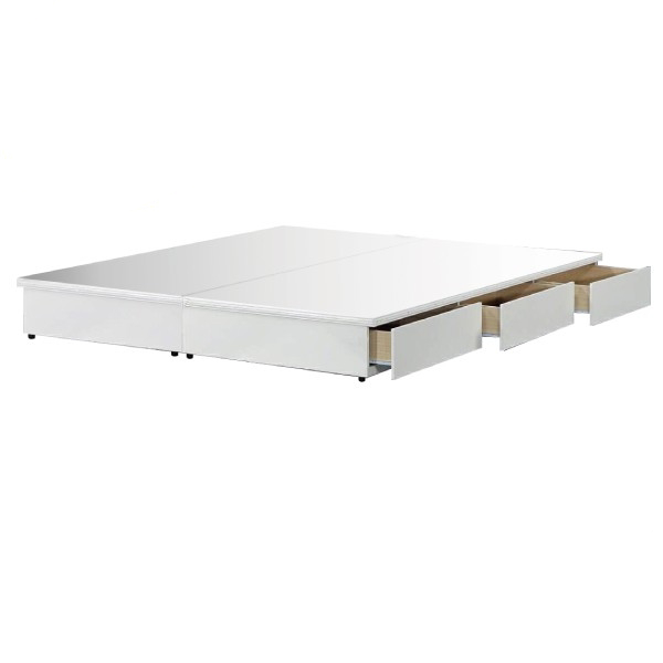 吉田抽屜型床底 白色 3.5尺5尺6尺