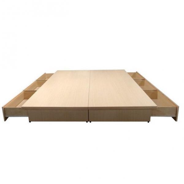 吉田抽屜型床底 白橡 3.5尺5尺6尺