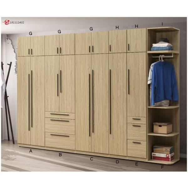 千尋系統衣櫃 被櫃設計