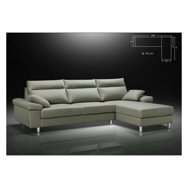 羅琳 亞麻布沙發 扶手枕設計