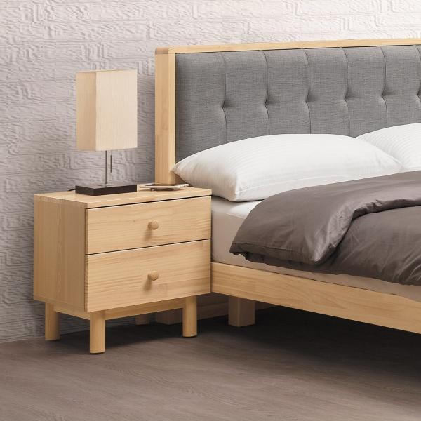 哥本哈根實木床頭櫃