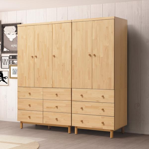 哥本哈根實木衣櫃 3尺4尺