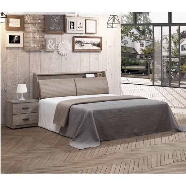 米蘭床頭箱 5尺6尺 床頭枕設計
