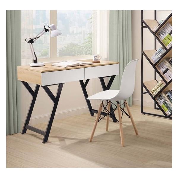 萊恩3.3尺黑腳書桌