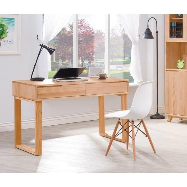 羅本北歐全實木4尺書桌