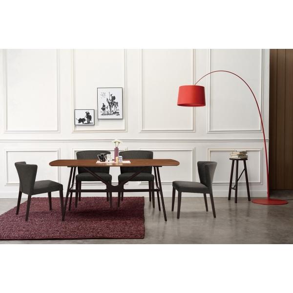 克萊夫6尺餐桌 狄克餐椅