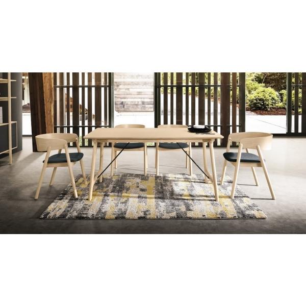 多米尼5.3尺餐桌 多米尼餐椅