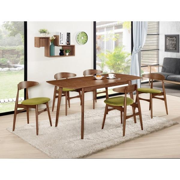 羅恩5尺多功能餐桌 拉合設計 邁爾斯餐椅
