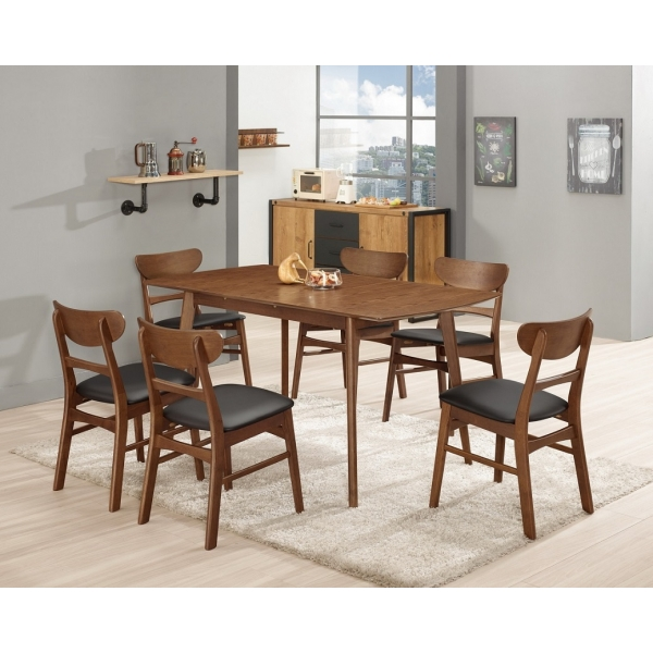 羅恩5尺多功能餐桌 拉合設計 羅拉餐椅