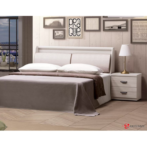 米爾床頭箱 5尺6尺 床頭枕設計