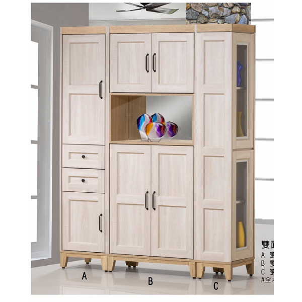 韓風雙面櫃隔間櫃 多尺寸設計 雙面設計