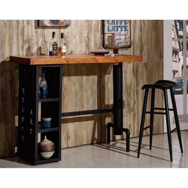 庫克4.6尺貨櫃造型吧台桌