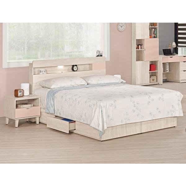 芬娜床頭片粉紅 3.5尺5尺