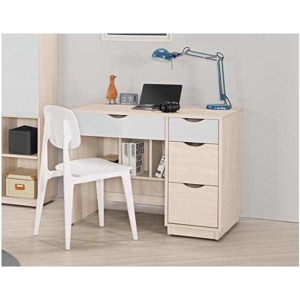納特3.2尺書桌粉藍