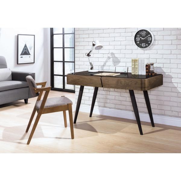 德瑞克4.2尺黑腳書桌