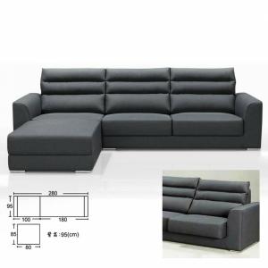 ㄇ型沙發 自由組合設計 貓抓皮