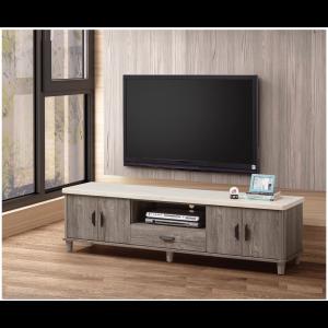 羅本北歐全實木電視櫃 展示櫃 L櫃