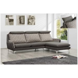 歐莉 亞麻布沙發 活動式腰枕設計
