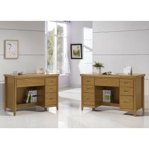 英隆正樟木全實木辦公桌 5尺5.8尺 散發天然樟木香味